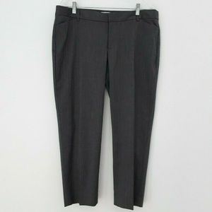 Gap Stretch  Slim Cropped pants Sz 14